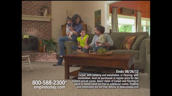 Empire Today TV Spot For Empire's Whole-House Sale - Thumbnail 1