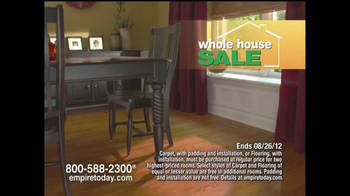 Empire Today TV Spot For Empire's Whole-House Sale - Thumbnail 2