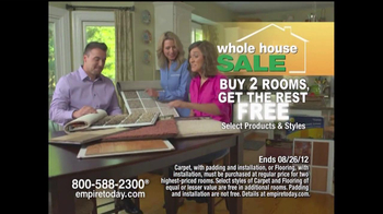 Empire Today TV Spot For Empire's Whole-House Sale - Thumbnail 4