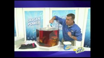 OxiClean TV Spot For Versatile Stain Remover