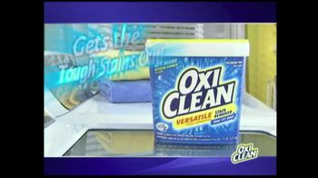 OxiClean TV Spot For Versatile Stain Remover - Thumbnail 7
