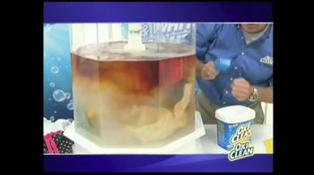 OxiClean TV Spot For Versatile Stain Remover - Thumbnail 4