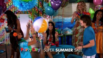 Party City TV Spot For Super Summer Sale - Thumbnail 2