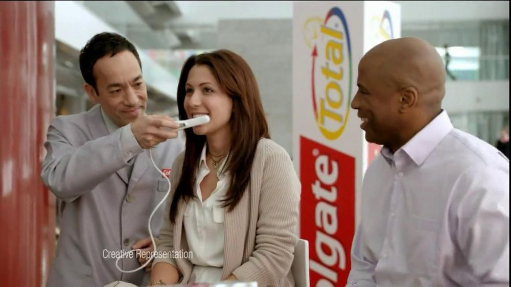 Colgate Total TV Commercial, 'Mouth Scan'