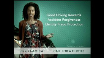 Amica Mutual Insurance Company TV Spot \'Car Insurance\'