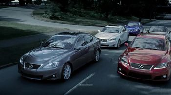 Lexus IS 250 TV Spot, 'Race Tracks' - 46 commercial airings