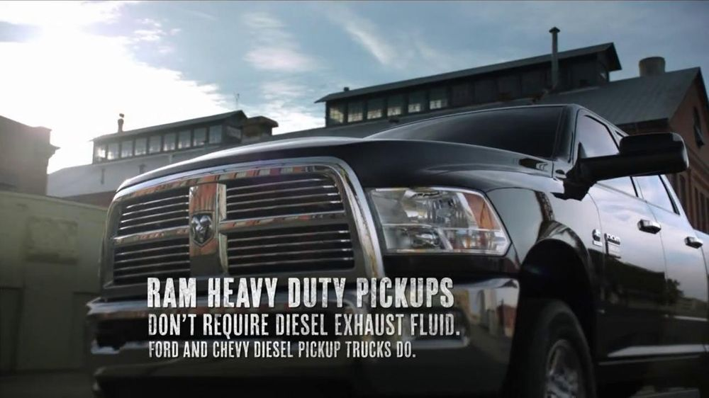 2012 Ram 2500 and 3500 TV Commercial, 'Get Things Done'