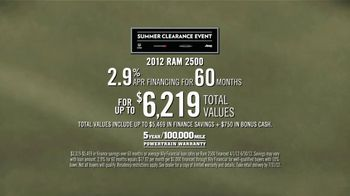 2012 Ram 2500 and 3500 TV Spot, 'Get Things Done' - Thumbnail 8