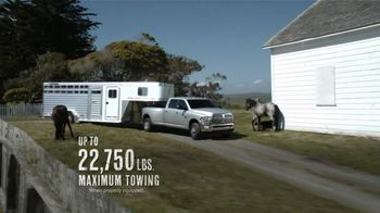 2012 Ram 2500 and 3500 TV Spot, 'Get Things Done' - Thumbnail 5