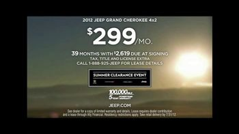 Jeep TV Spot For Summer Clearance Event - Thumbnail 10