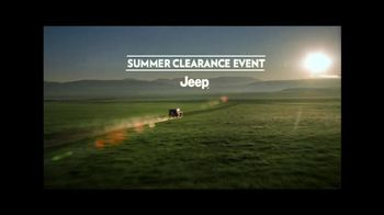 Jeep TV Spot For Summer Clearance Event - Thumbnail 2