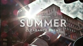 2012 Chrysler 200S TV Spot, 'Summer Clearance Event'