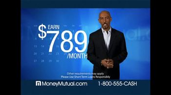 Money Mutual TV Spot For Money Mutual Featuring Montel Williams - 106 commercial airings