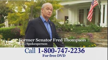 American Advisors Group TV Spot, 'Information' Featuring Fred Thompson - 456 commercial airings