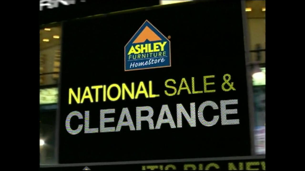 Ashley Furniture Homestore National Sale & Clearance TV Commercial, on national transportation, national home services, national baseball, national weather, national home design, national fish, national home furnishings, national home health,