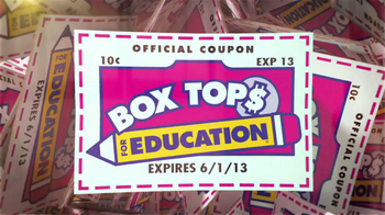 Box Tops For Education TV Spot For Old El Paso, Pillsbury and Fiber One - Thumbnail 1