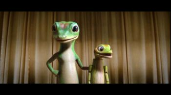 GEICO Gecko Ventriloquist App TV Spot, 'Talent Show: Talking Bobby' - 38 commercial airings
