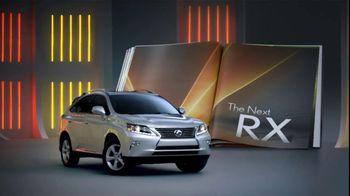 2013 Lexus RX F Sport TV Spot - 384 commercial airings