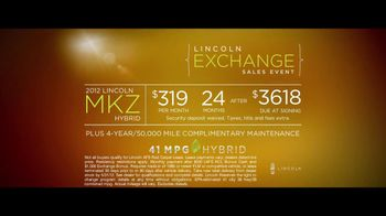 Lincoln MKZ Hybrid Sales Event TV Spot, 'Trading Up' - Thumbnail 4