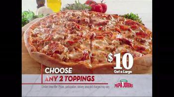 Large 2 Topping Pizza and Papa Rewards thumbnail