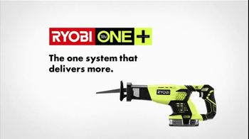 Ryobi One+ TV Spot, 'More Is More' - Thumbnail 6