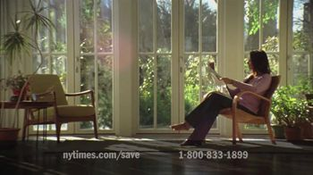 New York Times TV Spot for Subscribing to the New York Times - 38 commercial airings
