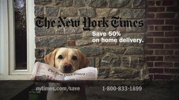 New York Times TV Spot for Subscribing to the New York Times - Thumbnail 4