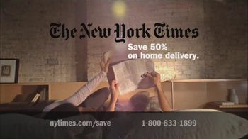 New York Times TV Spot for Subscribing to the New York Times - Thumbnail 3