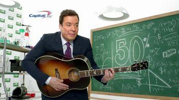 Capital One TV Spot, 'Guitar Song' Featuring Jimmy Fallon - Thumbnail 2