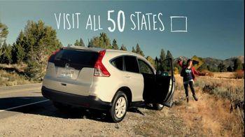 Honda CRV TV Spot, 'All 50 States' - Thumbnail 4