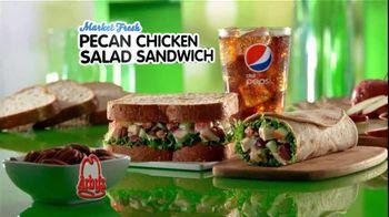 Arby's Pecan Chicken Salad Sandwich TV Spot - Thumbnail 2