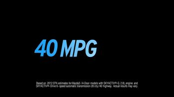 Mazda TV Spot for Mazda 3 with Skyactiv Technology - Thumbnail 3