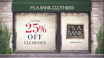 JoS. A. Bank TV Spot For 25% Off Clearance Sale - Thumbnail 10