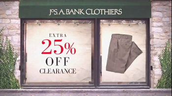 JoS. A. Bank TV Spot For 25% Off Clearance Sale - Thumbnail 5