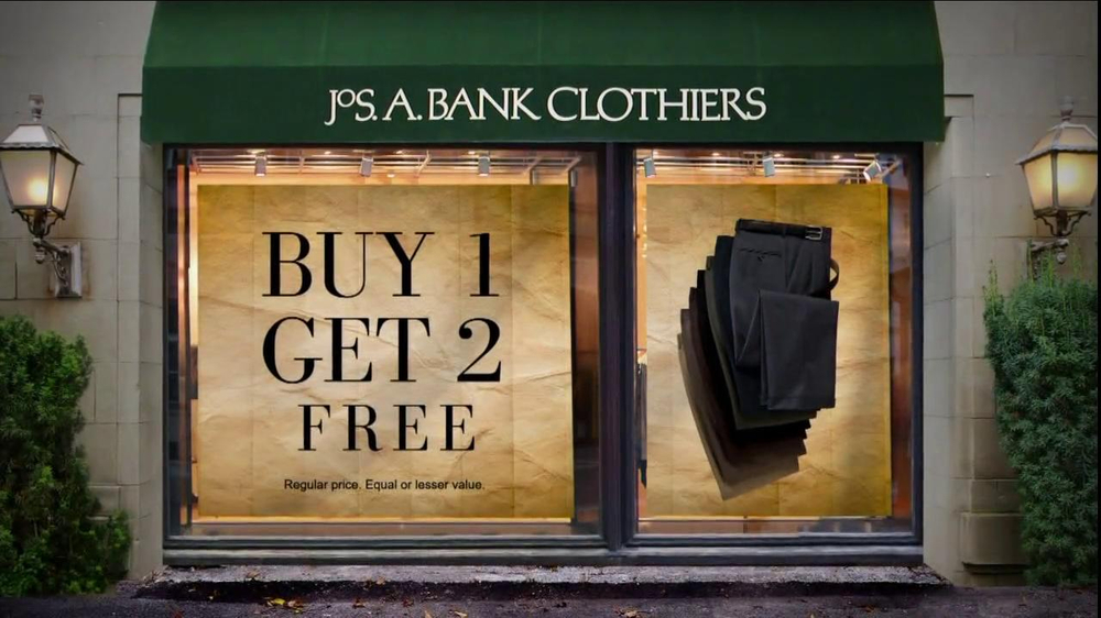 JoS. A. Bank TV Commercial, 'Buy 1 Get 2 Free: Mix & Match'