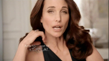 L'Oreal Excellence Color Creme TV Spot, 'Color That Cares' Featuring Andie MacDowell - Thumbnail 2