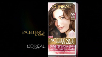 L'Oreal Excellence Color Creme TV Spot, 'Color That Cares' Featuring Andie MacDowell - Thumbnail 3