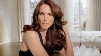 L'Oreal Excellence Color Creme TV Spot, 'Color That Cares' Featuring Andie MacDowell
