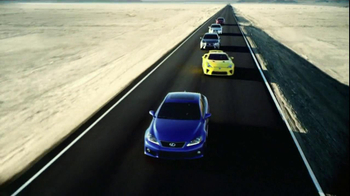 Lexus GS and IS TV Spot, 'Golden Opportunity Sales Event' - 50 commercial airings