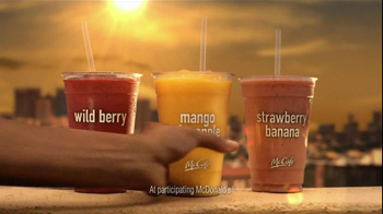 McDonald's McCafe Fruit Smoothies TV Spot 'Savoring Life' - 150 commercial airings