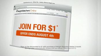 Weight Watchers TV Spot For Weight Watchers Online - Thumbnail 10
