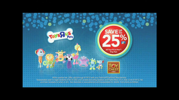 PetSmartr 25th Anniversary Sale TV Spot, 'Toys R Us Pets'