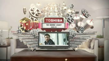Toshiba Ultrabook TV Spot, 'The Bourne Legacy' - Thumbnail 6