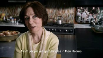 Merck & Company TV Spot For Shingles Information Featuring Cindie Haney