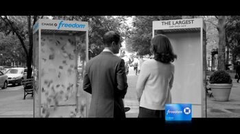Chase Freedom TV Spot, 'Cash-Back Money Booth' - 18 commercial airings