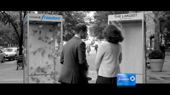 Chase Freedom TV Spot, 'Cash-Back Money Booth' - Thumbnail 6