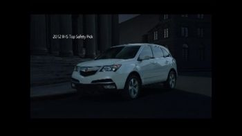 Acura TV Spot For 2012 Acura MDX - 115 commercial airings