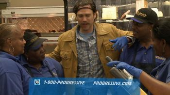 Progressive TV Spot, 'Grocery Store Discounts' Featuring The Messenger - Thumbnail 8