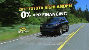 Toyota Summer Sales Drive TV Spot, '2012 Models' Song by Lindsey Buckingham - Thumbnail 5