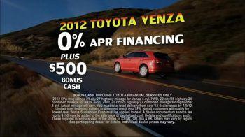 Toyota Summer Sales Drive TV Spot, '2012 Models' Song by Lindsey Buckingham - Thumbnail 3